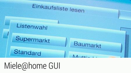 Miele@home GUI