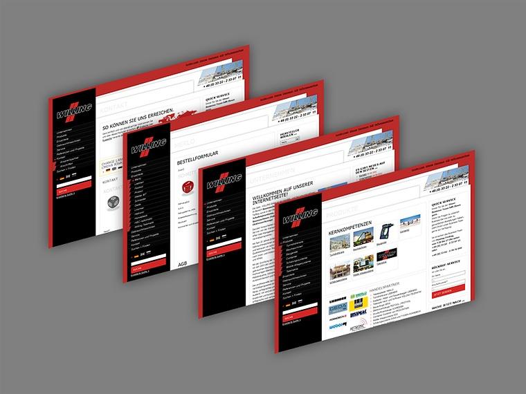 Referenz Rot-Kreuz-Shop Referenz Anwaltskanzlei Gätje Referenz Willing Baumaschinen & Service